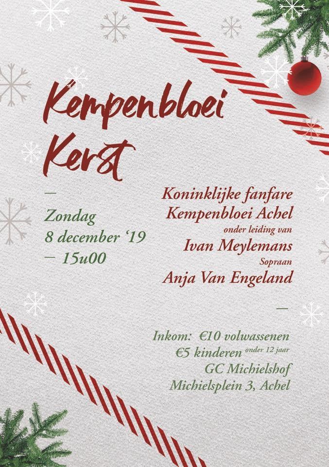 Kempenbloei Kerst - met Anja Van Engeland @ GC Michielshof | Hamont-Achel | Vlaanderen | België