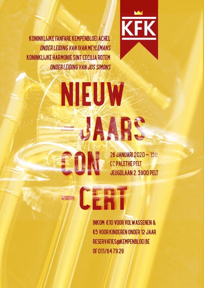 Nieuwjaarsconcert @ Palethe | Pelt | Vlaanderen | België