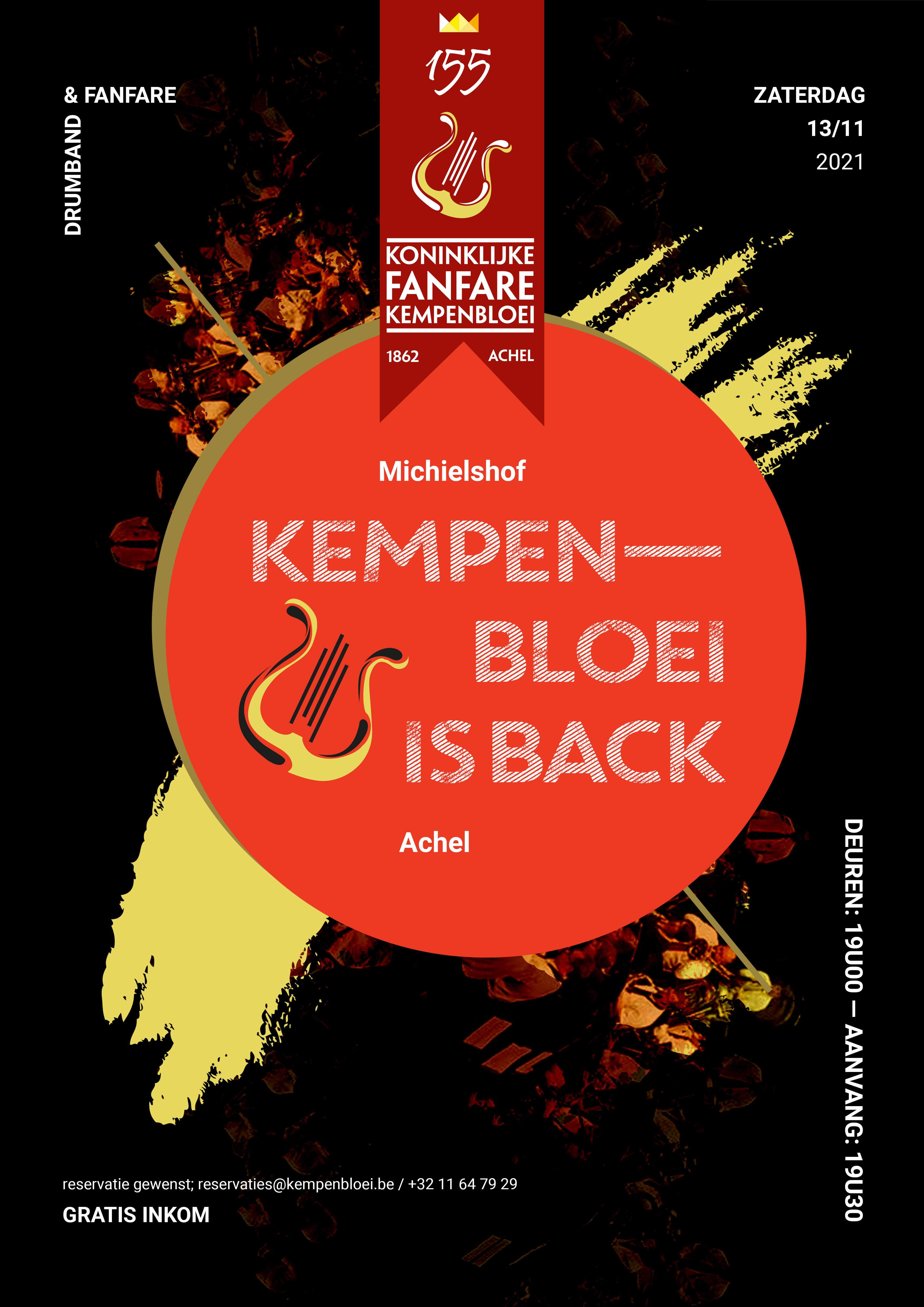 Kempenbloei is Back @ Michielshof | Hamont-Achel | Vlaanderen | België